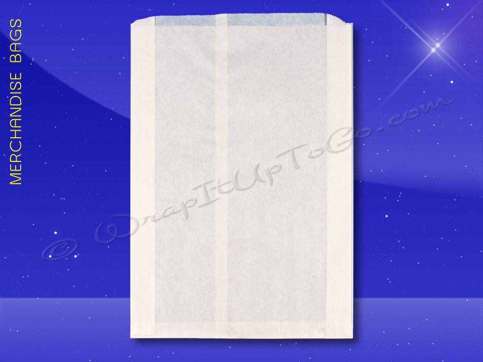 Merchandise-Bags—Bleached—Fischer-Paper—1709
