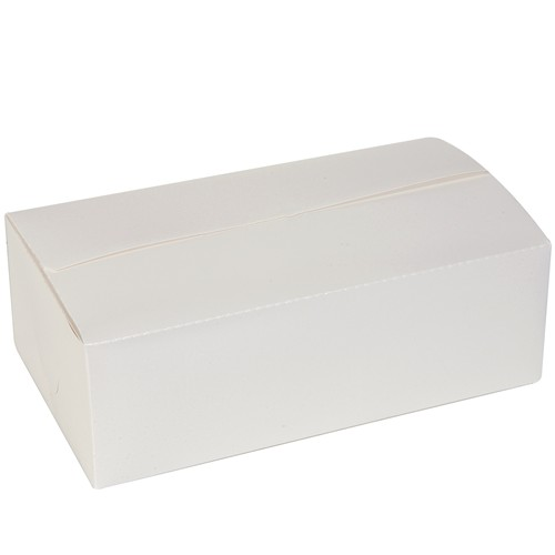 Dixie 964W - White Carryout Carton - Dinner Size