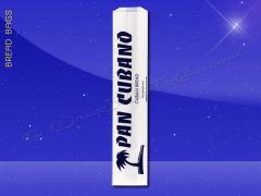 Bread Bags - 5 x 3 x 24 - Printed Pan Cubano