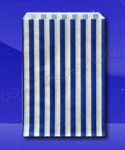 Candy Stripe Bags 10 x 14 - Blue Stripes