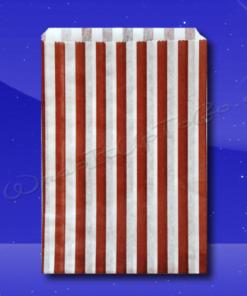 Candy Stripe Bags 5 x 7 - Brown Stripes