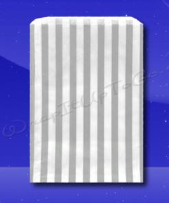 Candy Stripe Bags 10 x 14 - Grey Stripes