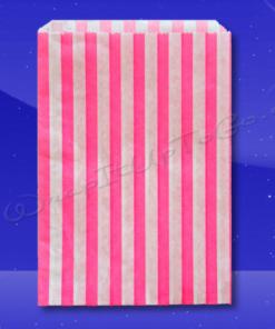 Candy Stripe Bags 7 x 9 - Pink Stripes