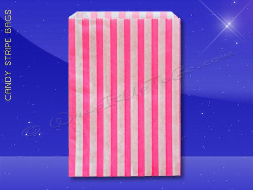 Candy Stripe Bags 10 x 14 – Pink Stripes 1