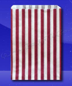 Candy Stripe Bags 5 x 7 - Purple Stripes