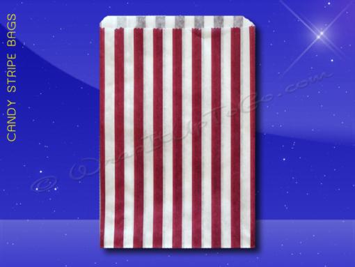 Candy Stripe Bags 5 x 7 – Purple Stripes 1