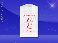 Peanut Bags - 3-1/2 x 6-1/2 - Printed