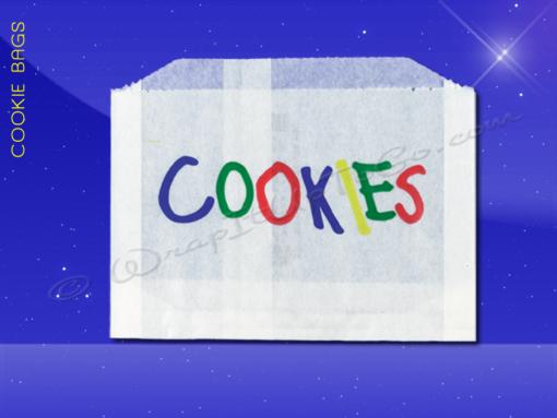 Cookie Bags – 5-1/2 x 1 x 4 – Printed Cookies 1