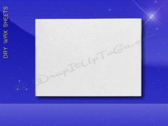 Dry Wax Sheets - 12 x 16 - Plain