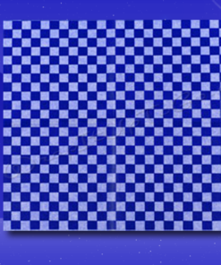 Dry Wax Sheets – 12 x 12 – Blue Checkerboard 1