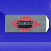 Foil Hot Dog Bags – 3-1/2 x 1-1/2 x 8-3/4 – Printed Hot Dog 1