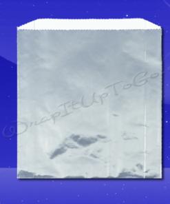Foil Sandwich Bags - 6 x 3/4 x 6-1/2 - Plain