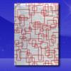 Foil Wrap Sheets – 9 x 12 – Red Pattern 1
