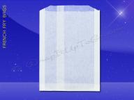 French Fry Bags - 5-1/2 x 1 x 8 - Plain