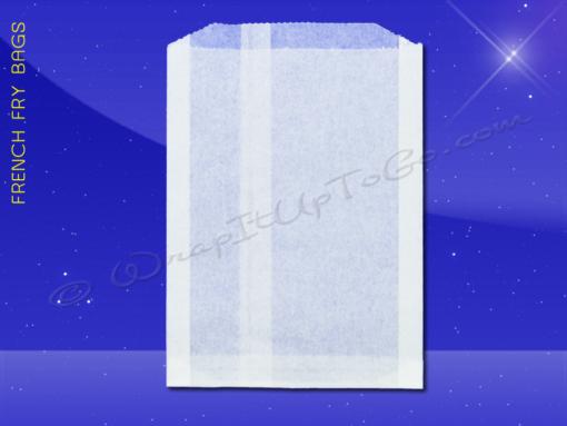 French Fry Bags – 5-1/2 x 1 x 8 – Plain 1