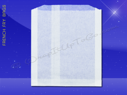 French Fry Bags – 4-3/4 x 3/4 x 5-3/4 1