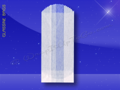 Glassine Bags - 3 x 1-3/4 x 6-3/4 - 1/2 Lb.