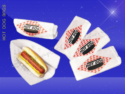 Hot Dog Bags – Double Opening – 3-1/2 x 2-1/4 x 8-1/4 – Printed Hot Dog 2