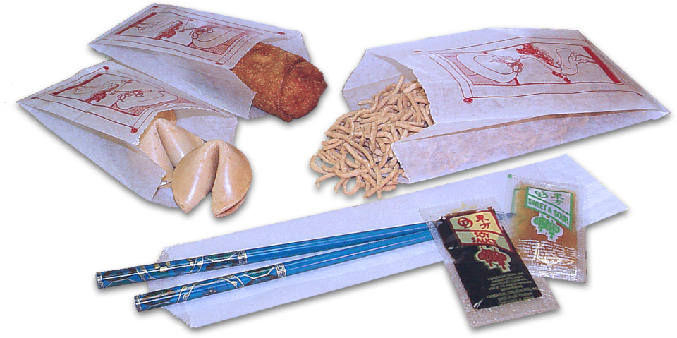 WrapItUpToGo Chinese Food Bags