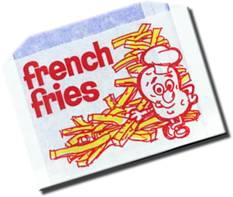 wrapituptogo.com - Old School French Fry Bags
