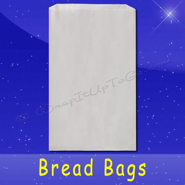 Fischer Paper Products BB-14 Bread Bags 8-1/2 x 4-1/2 x 14 Plain