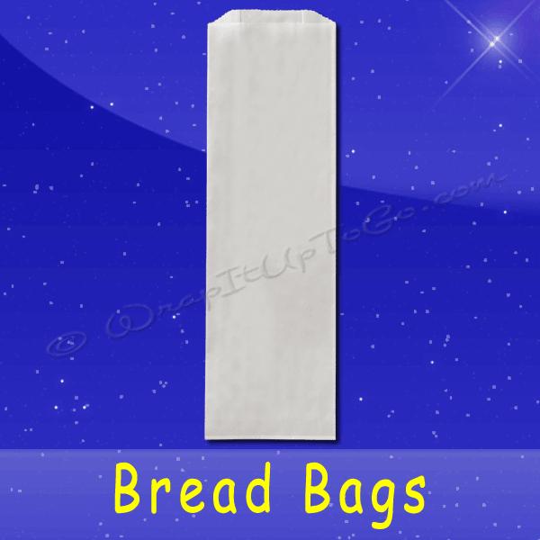 Fischer Paper Products BB-26 Bread Bags 6 x 3-1/2 x 18 Plain